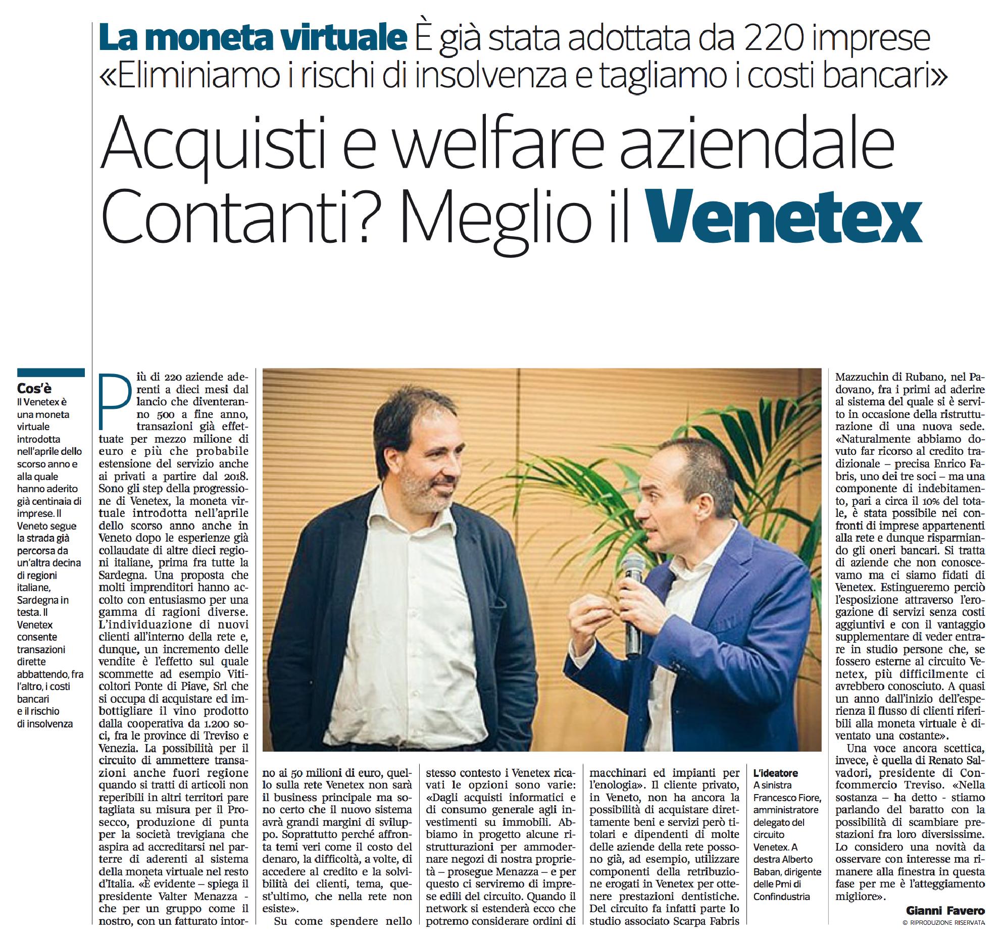 Corriere Imprese Nordest - 10 aprile 2017